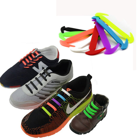 Image of 16pcs No-Tie Shoe Lace - The Trendy Hero