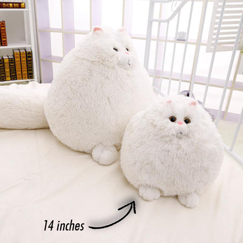 Image of Fluffy Cat Plush Toy - The Trendy Hero
