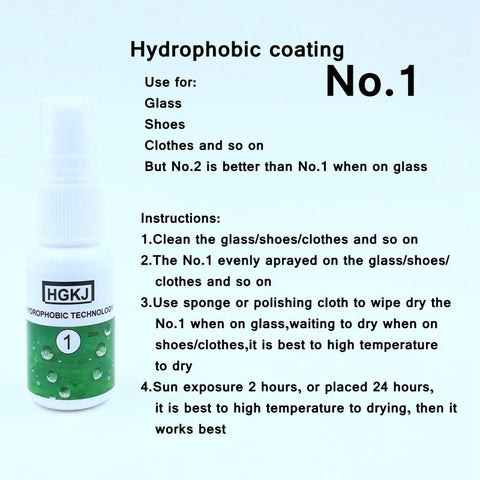 Hydrophobic Anti-Stain Shoe Spray - The Trendy Hero