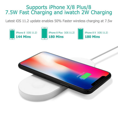 3 in 1 Smart Wireless Charger - The Trendy Hero