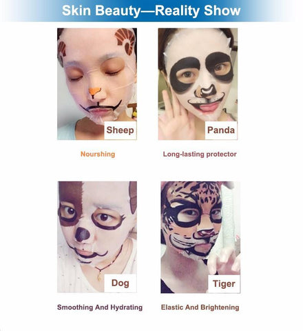 Image of Animal Facial Mask Gift Set - The Trendy Hero