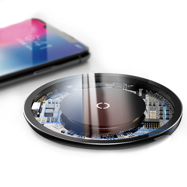 Transparent Wireless Chargepad - The Trendy Hero