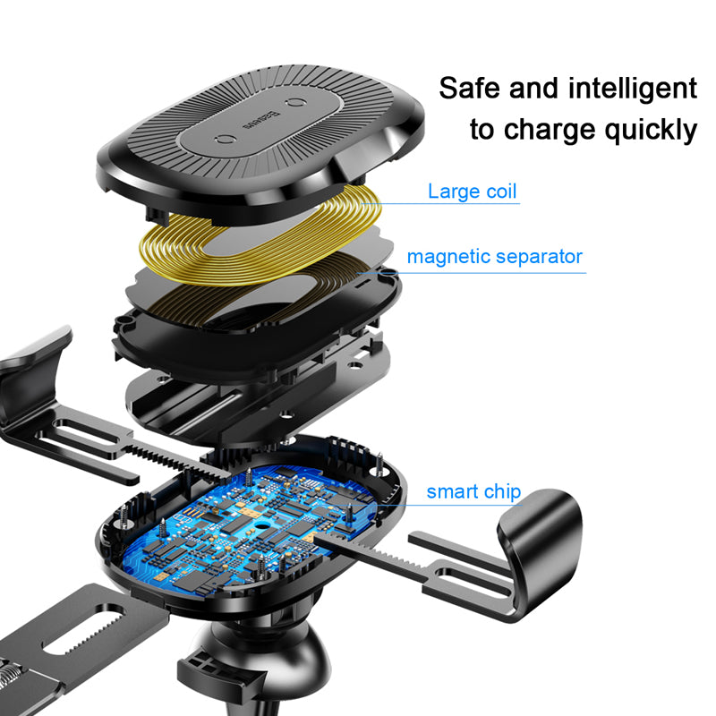 Car Wireless Charger Mount for iPhone - The Trendy Hero
