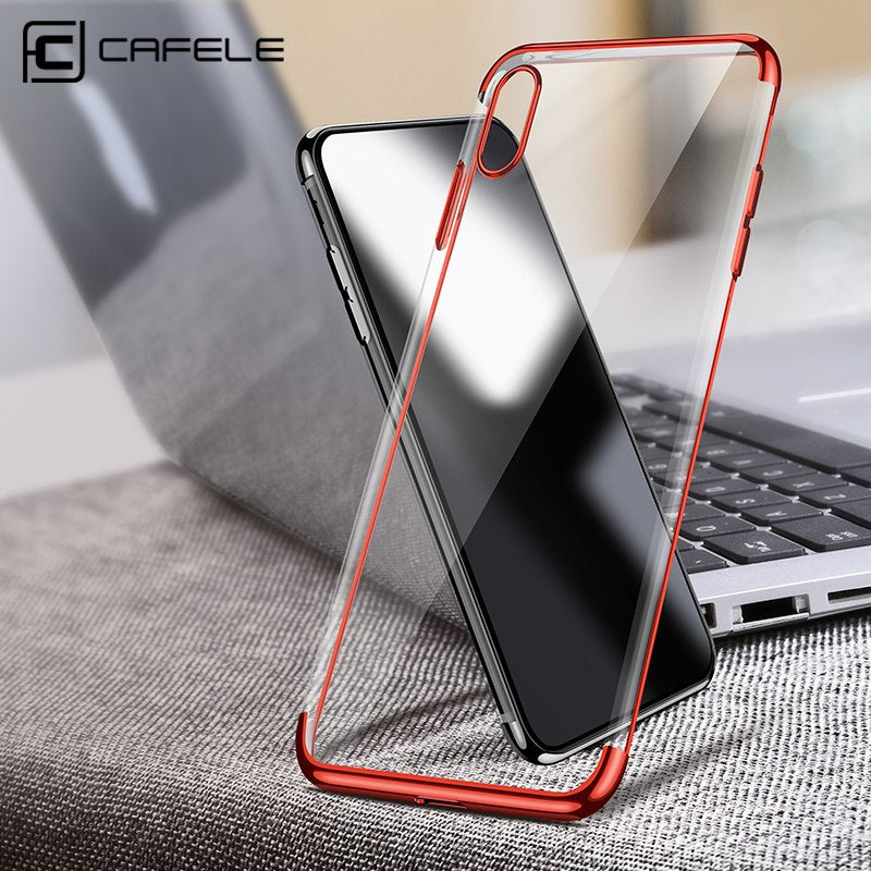 Ultra Thin Transparent iPhone X Case - The Trendy Hero