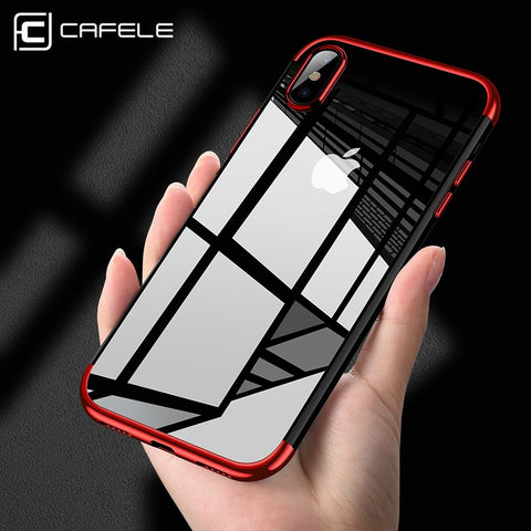 Image of Ultra Thin Transparent iPhone X Case - The Trendy Hero
