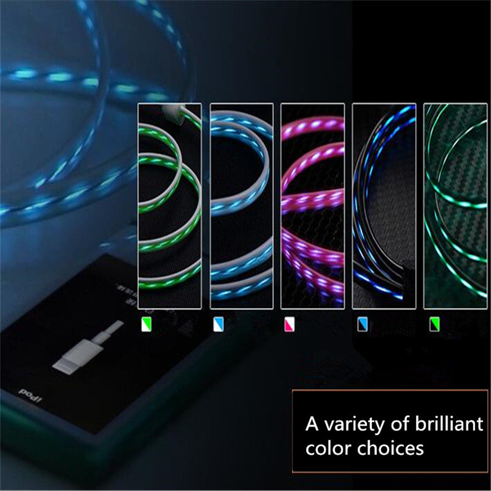 LED Light Flow Charging Cable - The Trendy Hero