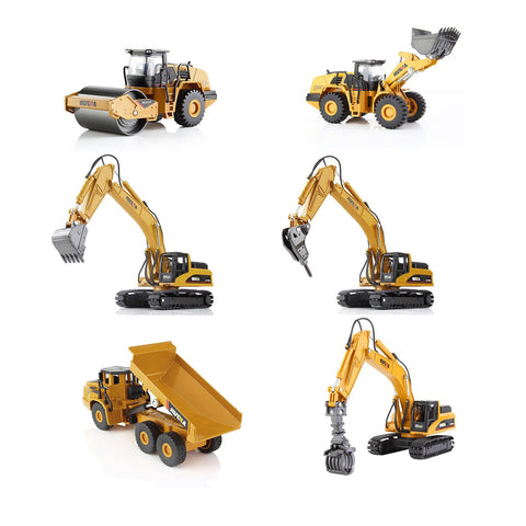 Image of Toy Model Construction Equipment - The Trendy Hero