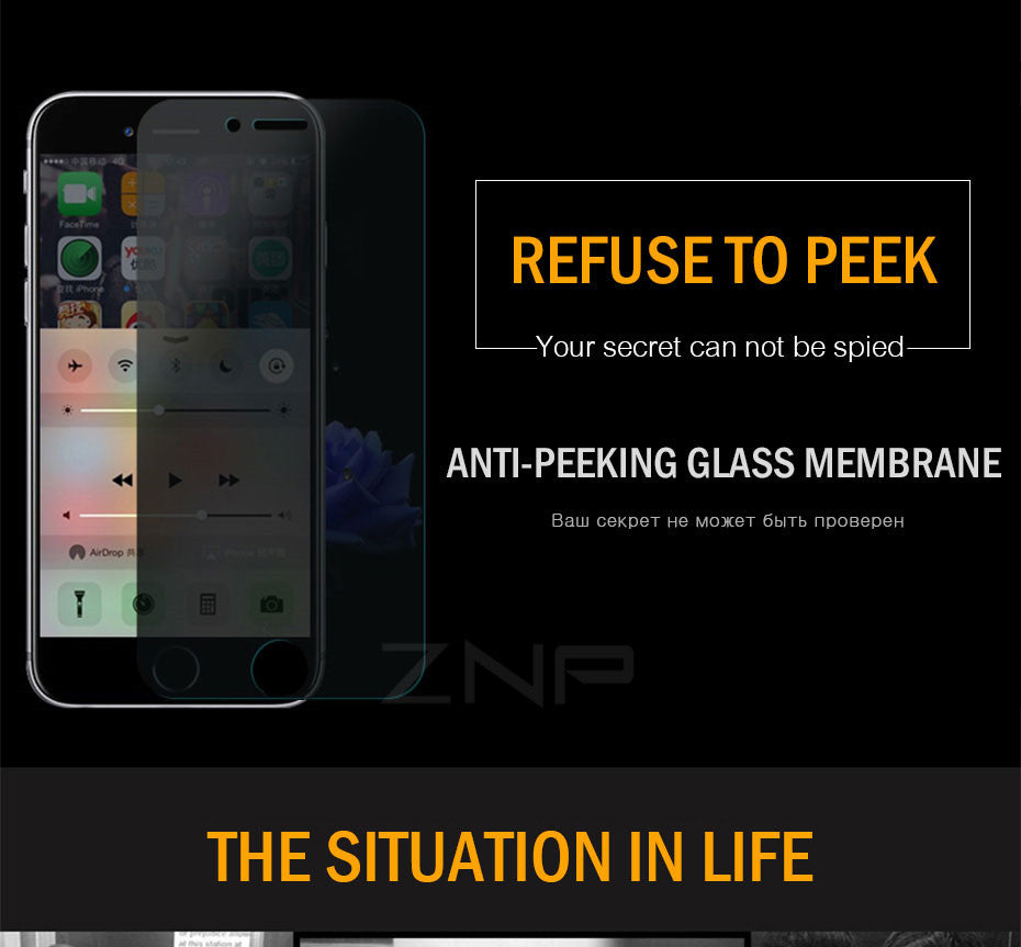 Privacy Screen Protector For iPhone - The Trendy Hero