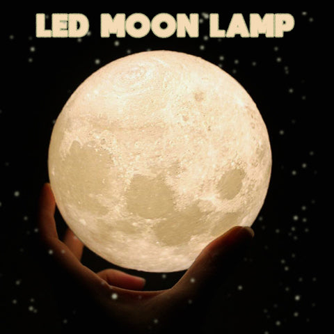 Image of LED Moon Lamp - The Trendy Hero