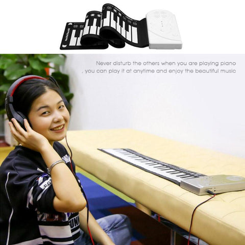 Image of Portable Roll Up Piano