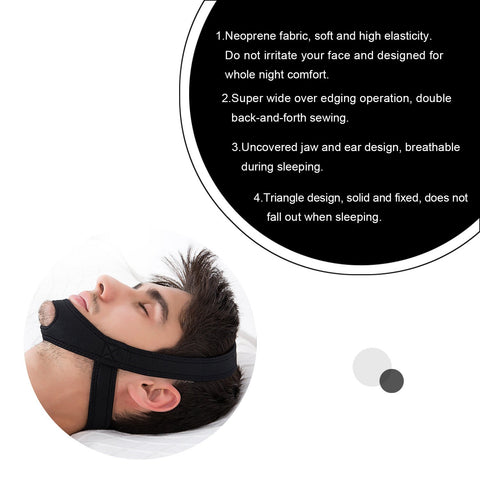 AntiSnore Chin Strap - The Trendy Hero