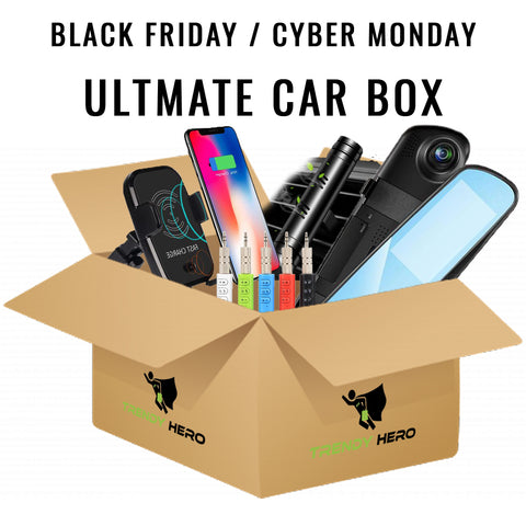 Black Friday Ultimate Car Box - The Trendy Hero