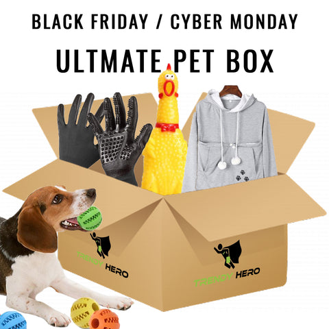 Black Friday Ultimate Pet Box - The Trendy Hero