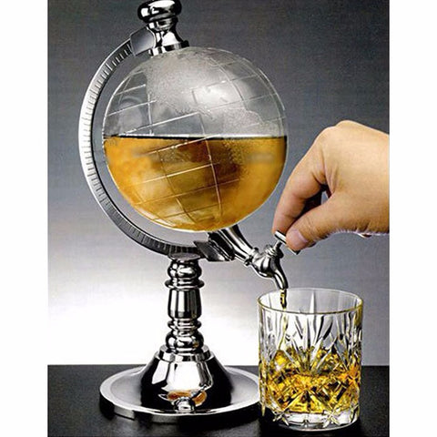 Image of Whiskey Globe Decanter