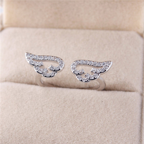 Image of Adjustable Angel Wings Ring - The Trendy Hero