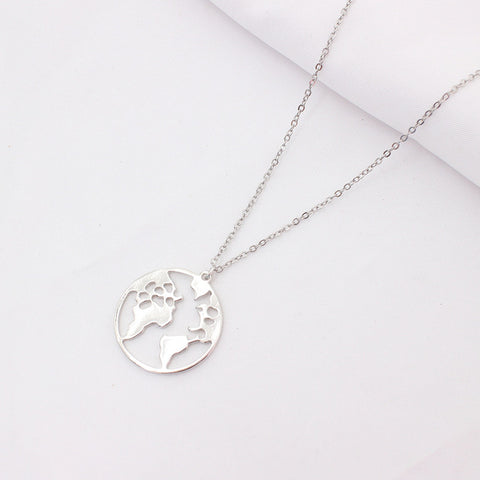 Image of Globe Travel Necklace - The Trendy Hero