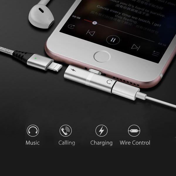 4 in 1 Lightning Adapter for iPhone - The Trendy Hero