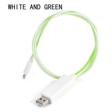 Image of LED Light Flow Charging Cable - The Trendy Hero