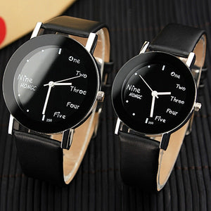 "Couple Montre ""Yazole"""