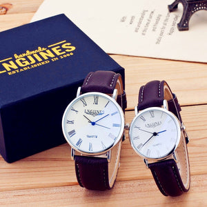 "Couple Montre ""Thin"""