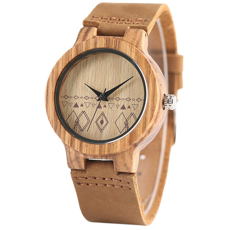 "Bambou femme Montre ""TimePro"""