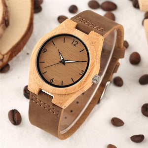 "Bambou femme Montre ""Wood Watch"""