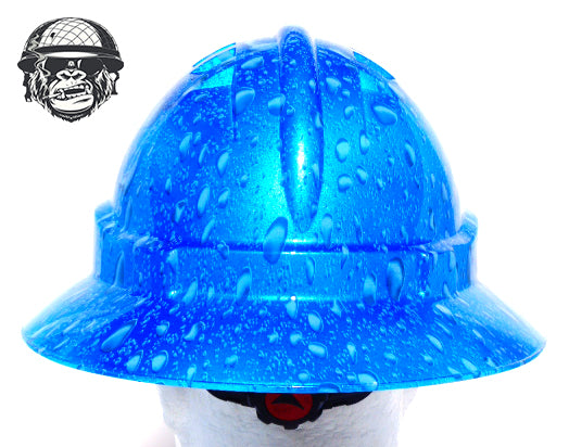 Full Brim - Raindrop; Cool Hard Hats NZ