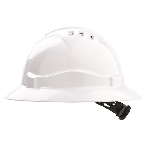 Standard Hard Hat - Plain Full Brim Hats; Cool Hard Hats NZ