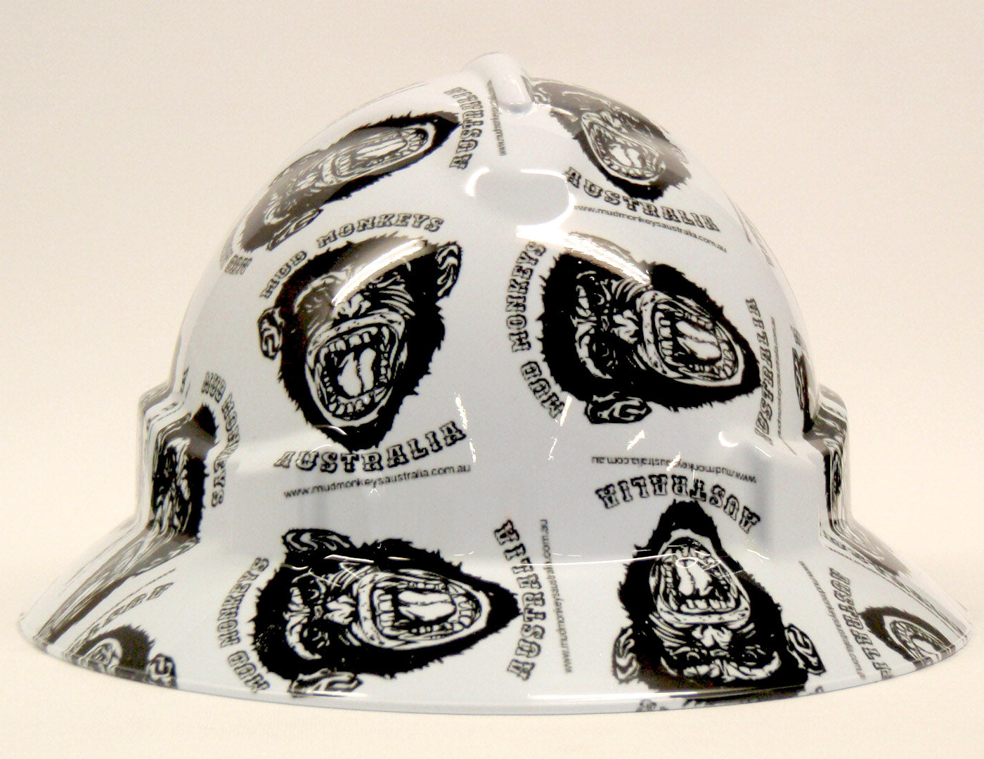 Custom Hard Hat - Full Brim Hydro Dipped Logo Hard Hats; Cool Hard Hats NZ