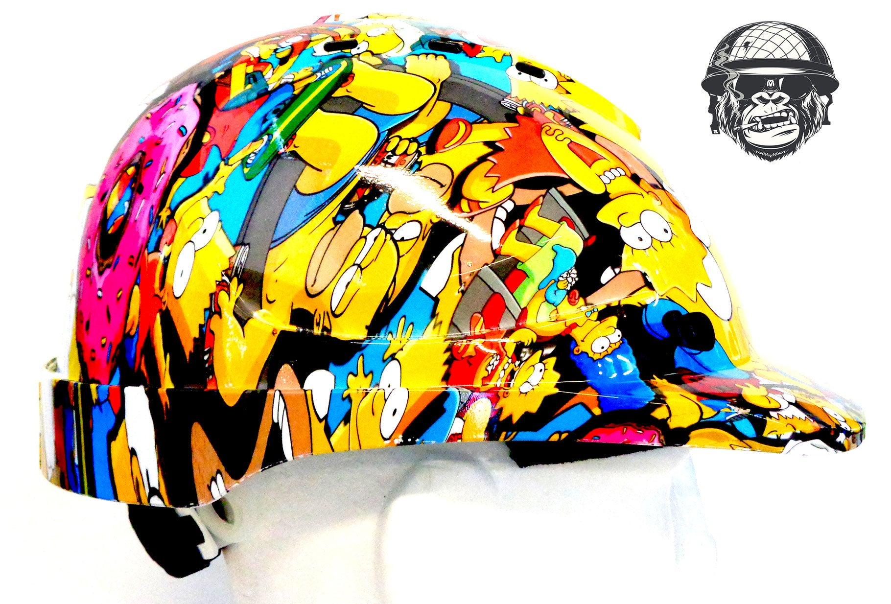V9 Cap Hard Hat - Simpsons; Cool Hard Hats NZ