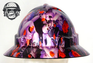 Full Brim Hard Hat - Kerry Rose; Cool Hard Hats NZ