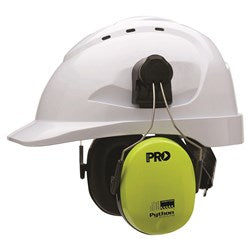 Hard Hat Accessories - Python® Slimline Hard Hat Earmuffs Class 5; Cool Hard Hats NZ