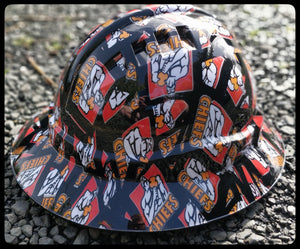 Chiefs Full Brim Hard Hat