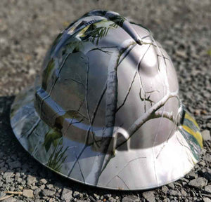 Bush Camo Full Brim Hard Hat
