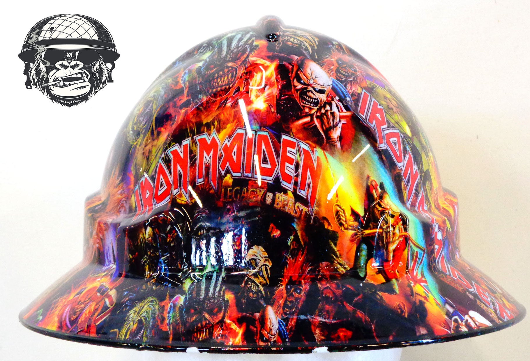 Iron Maiden Front Hard Hat