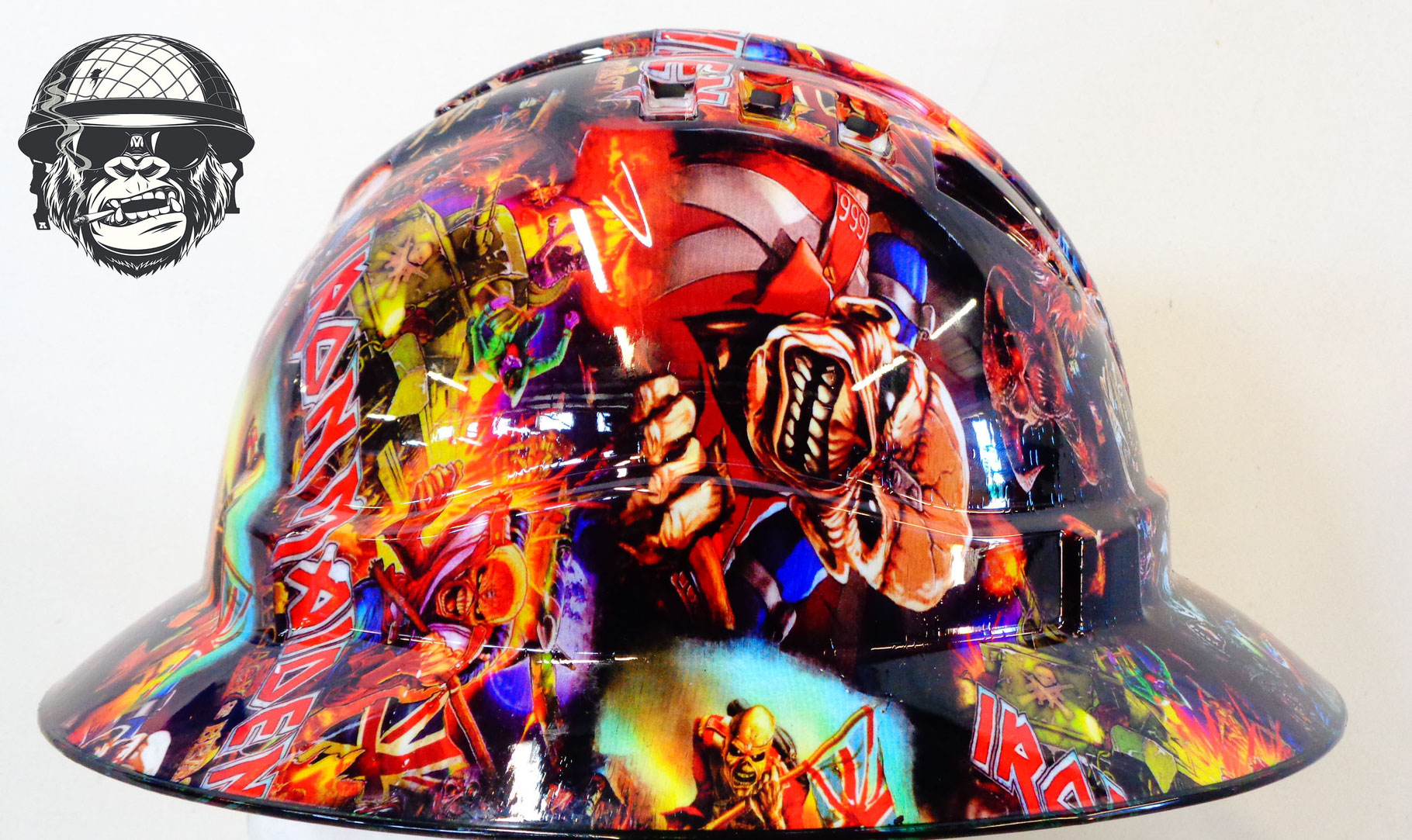 Iron Maiden Side Hard Hat