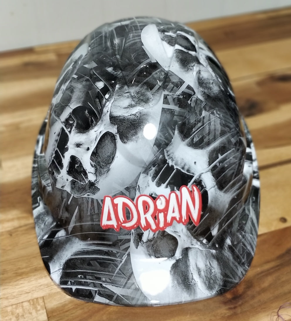 Name your Hard Hat with a Vinyl decal