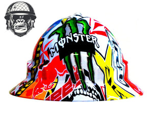Monster Full Brim Hard Hat