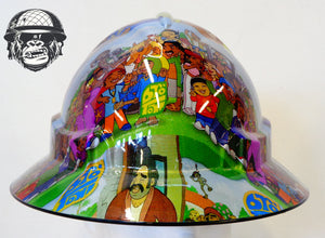 Full Brim Hard Hat - Brotown; Cool Hard Hats NZ