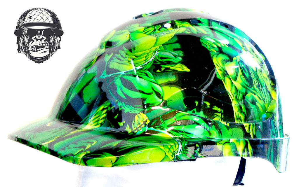 V9 Cap Hard Hat - Hulk; Cool Hard Hats NZ