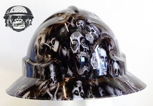 Full Brim Hard Hat - Dead Bride; Cool Hard Hats NZ
