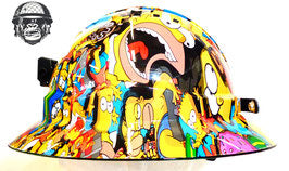 Miner Hard Hat - Simpsons; Cool Hard Hats NZ