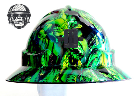 Miner Hard Hat - Hulk; Cool Hard Hats NZ