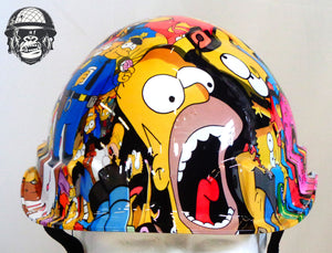 Linesman Hard Hat - Simpsons; Cool Hard Hats NZ