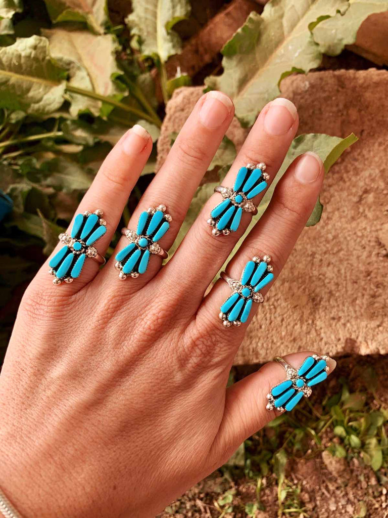 *RTS Blue Kingman Turquoise Ring