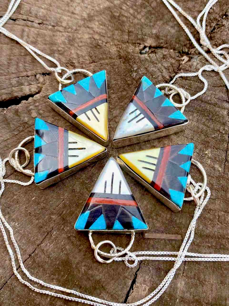 RTS ♢ Zuni Triangle Necklace
