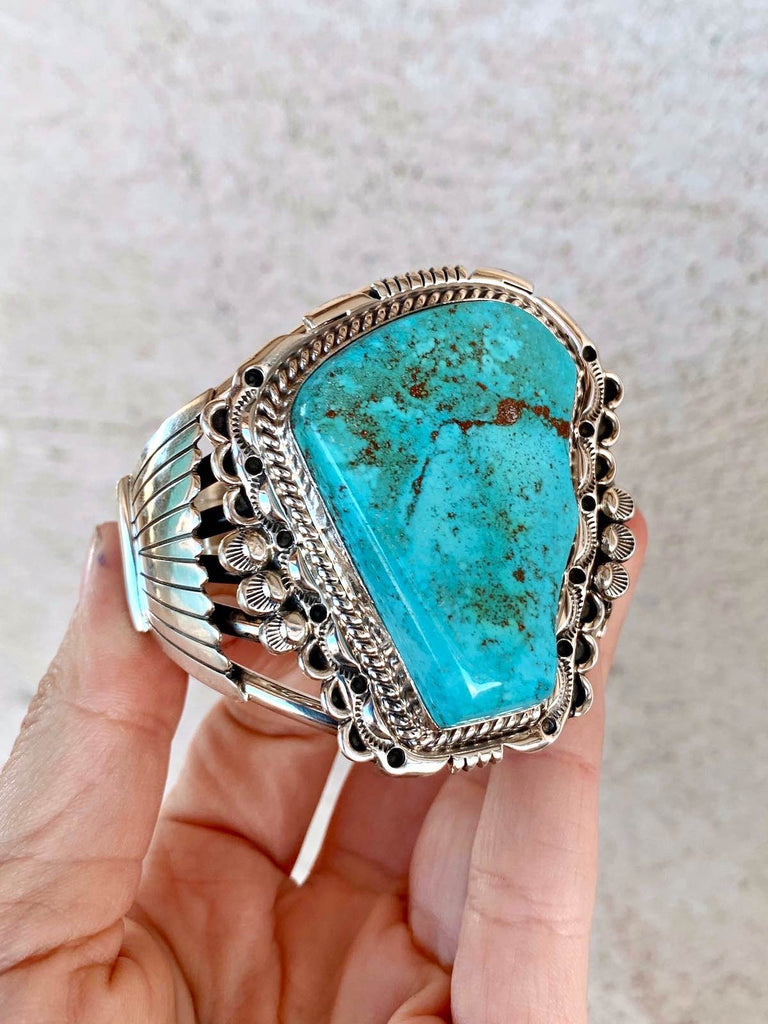 *High Grade NEVADA Turquoise Cuff