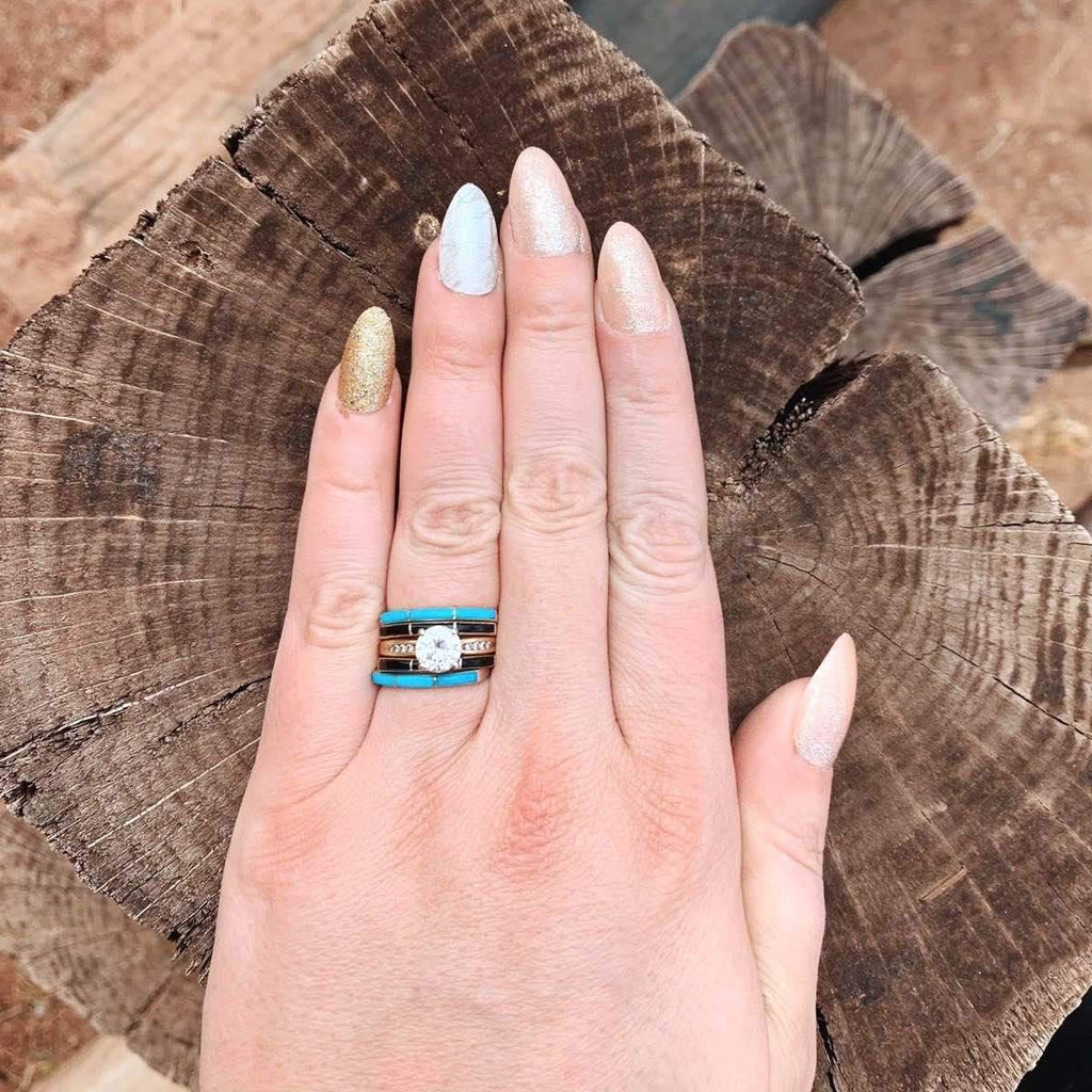 RTS ♢ Super Thin Ring *Black