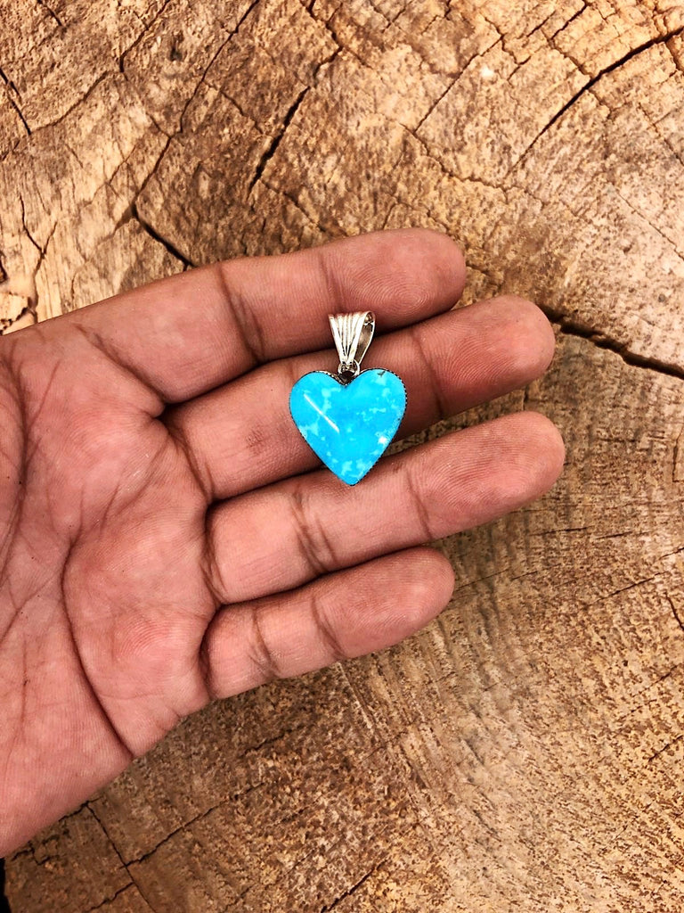 *Turquoise HEART necklace
