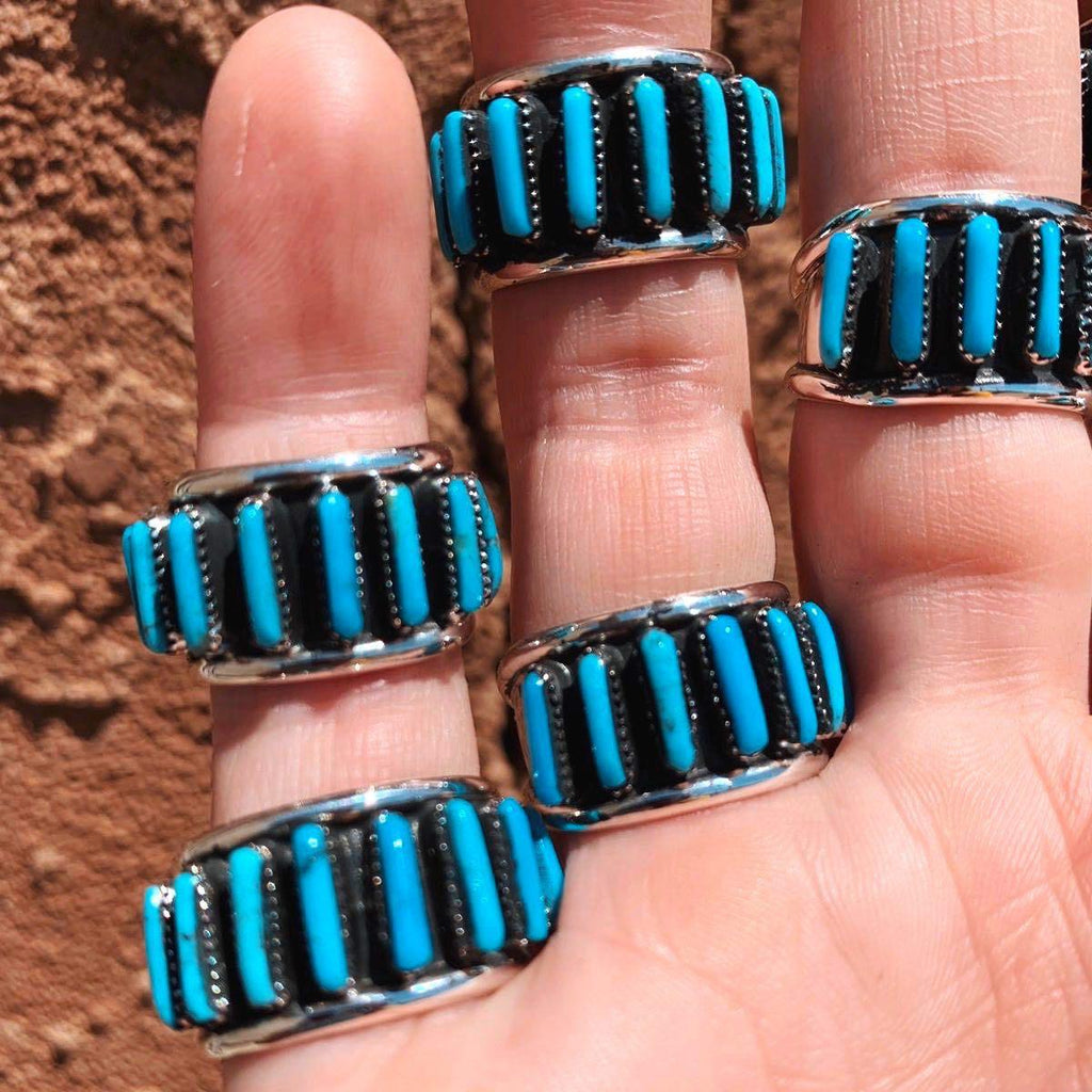 *RTS Pop Out Turquoise Cuff Ring
